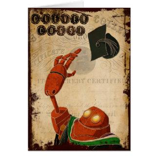 Carte d'obtention du diplôme de Steampunk