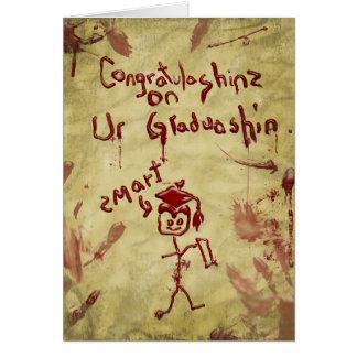 carte d'obtention du diplôme de zombi