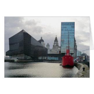 Carte Dock de mise en boîte Liverpool