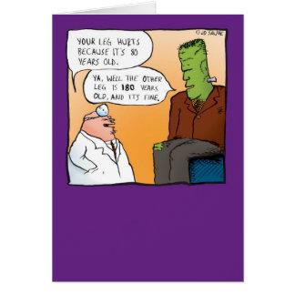 Carte Docteur Get Well Soon Card de Frankensteins