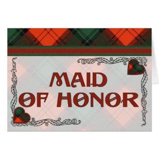 Carte Domestique de l'invitation d'honneur - Stewart