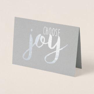 Carte Dorée Choisissez la joie