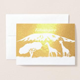 Carte Dorée Kilimanjaro
