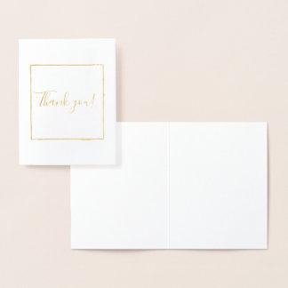 Carte Dorée Merci carré