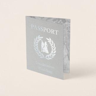 Carte Dorée passeport de mariage de destination