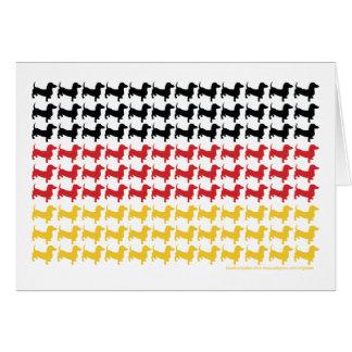 CARTE DOXIE-GERMAN-FLAG