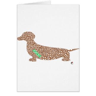Carte Doxie/teckel