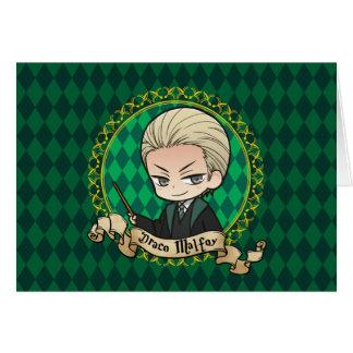 Carte Draco Malfoy d'Anime