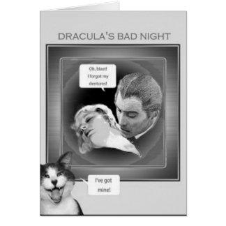 Carte Dracula est déconcerté