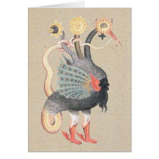 Carte Dragon d'alchimie