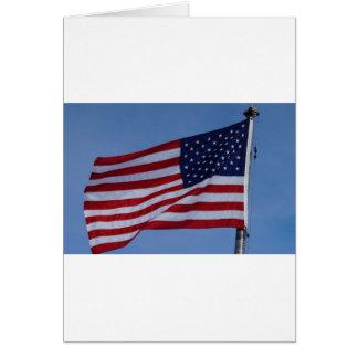 Carte Drapeau américain