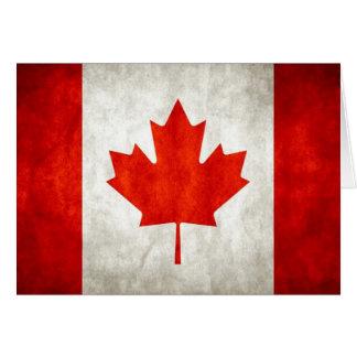 Carte Drapeau canadien