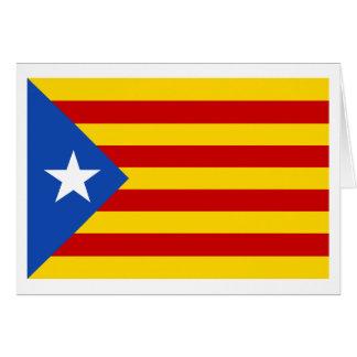 "Carte Drapeau catalan de l'indépendance de ""L'Estelada"