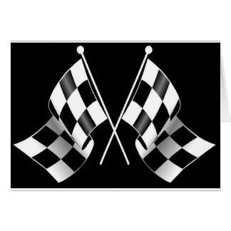 Carte drapeau checkered