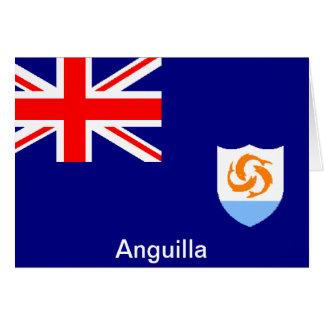 Carte Drapeau d'Anguilla