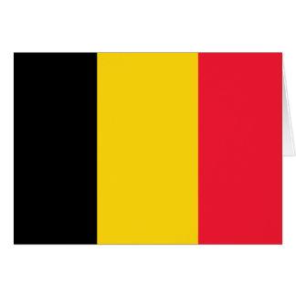 Carte Drapeau de haute qualité de la Belgique