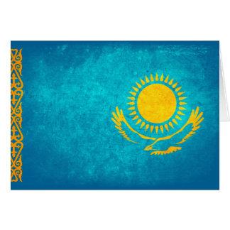 Carte Drapeau de Kazakhstan