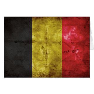Carte Drapeau de la Belgique