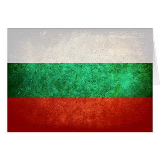 Carte Drapeau de la Bulgarie
