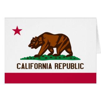 Carte Drapeau de la Californie