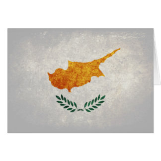 Carte Drapeau de la Chypre