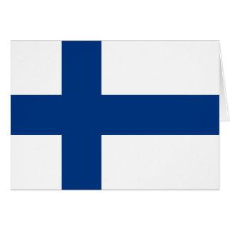 Carte Drapeau de la Finlande