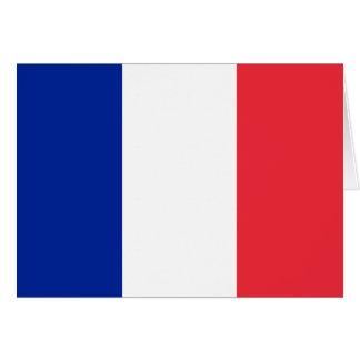 Carte Drapeau de la France