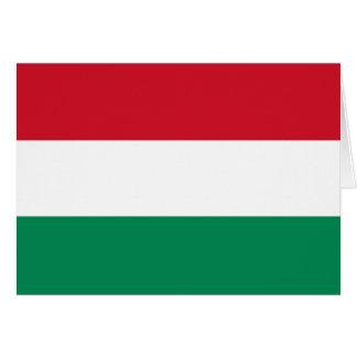 Carte Drapeau de la Hongrie