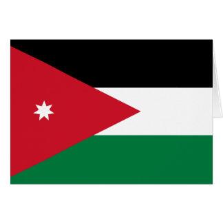 Carte Drapeau de la Jordanie