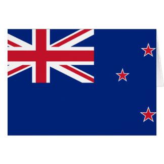 Carte Drapeau de la Nouvelle Zélande