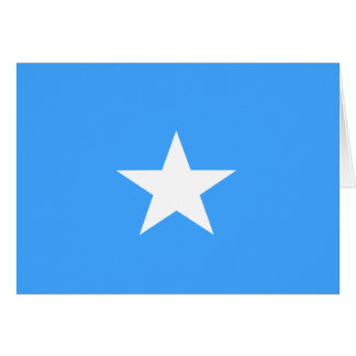 Carte Drapeau de la Somalie