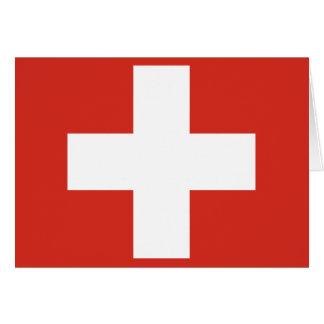 Carte Drapeau de la Suisse
