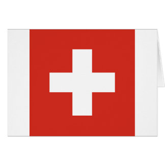 Carte Drapeau de la Suisse - meurent le der Schwe de