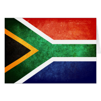 Carte Drapeau de l'Afrique du Sud