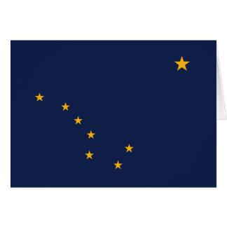 Carte Drapeau de l'Alaska