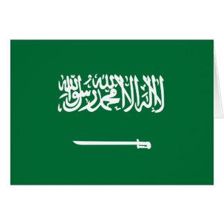 Carte Drapeau de l'Arabie Saoudite
