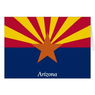 Carte Drapeau de l'Arizona