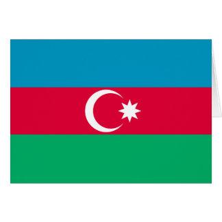 Carte Drapeau de l'Azerbaïdjan