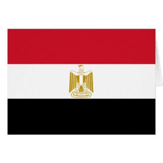 Carte Drapeau de l'Egypte