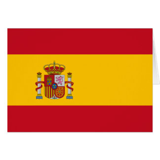 Carte Drapeau de l'Espagne
