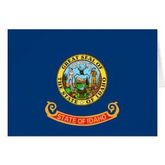Carte Drapeau de l'Idaho