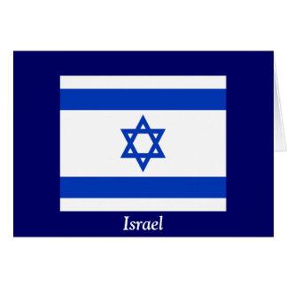 Carte Drapeau de l'Israël