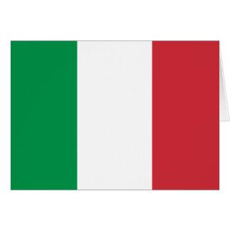 Carte Drapeau de l'Italie