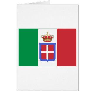 Carte Drapeau de l'Italie (1861-1946)