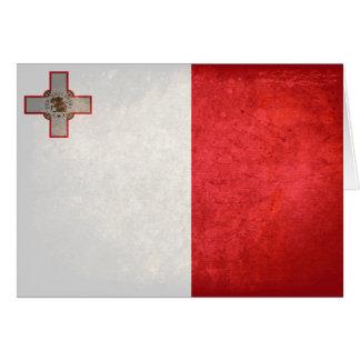 Carte Drapeau de Malte