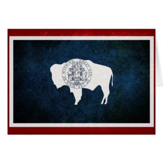 Carte Drapeau de Wyomingite