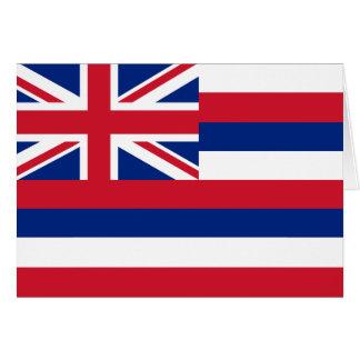 Carte Drapeau d'Hawaï