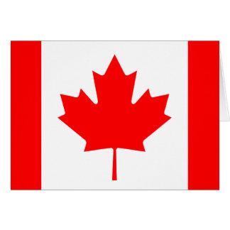 Carte Drapeau du Canada