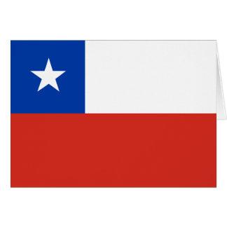 Carte Drapeau du Chili