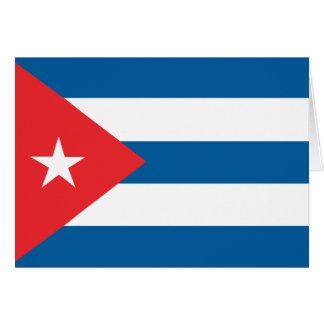 Carte Drapeau du Cuba